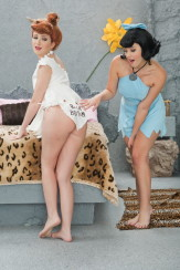 The Flintstones Orgy : Parody Pass The Flintstones XXX